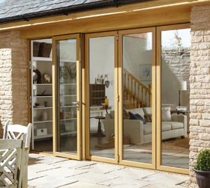 Aluminium Double Glazed Bi Fold Doors for Homes in London, Essex, Hertfordshire & Kent