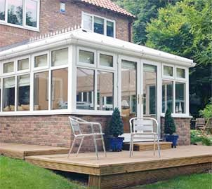 Certified installers of double glazed high-performance conservatories in & around London