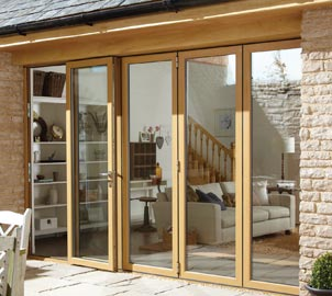 Inside and out, our aluminium bifold doors are made to the highest standard.