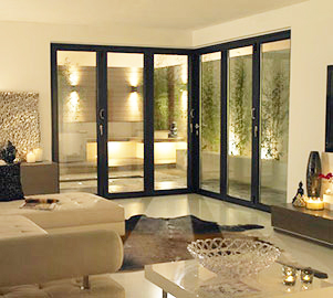 Glass & glazing design options tailored to suit your Aluminium Bi Fold doors in & around London