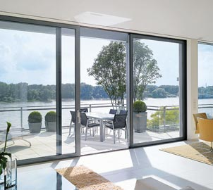 Aluminium Double Glazed Sliding Doors for Homes in London, Essex, Hertfordshire & Kent