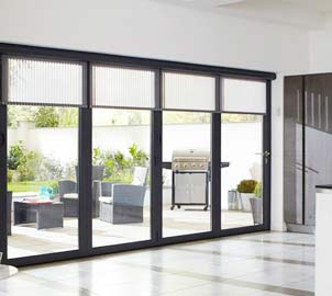 Aluminium Sliding Double Glazed Doors tailored for Properties in London, Essex, Hertfordshire & Kent