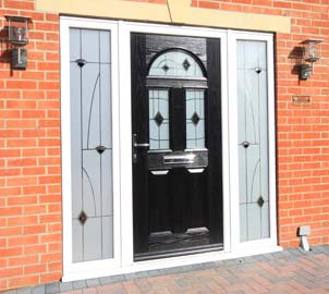 Our composite doors have a great choice of fittings (hinges, knockers, letterboxes etc.) so whether you choose gold, chrome or black to finish your door, you can be sure of a perfect match.