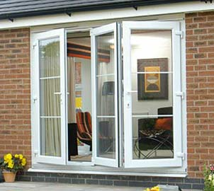 Upvc Bi Fold Double Glazed Doors tailored for Properties in London, Essex, Hertfordshire & Kent