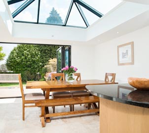 Adding a Taylorglaze orangery onto your home immediately provides the extra light and living space you've always wanted.