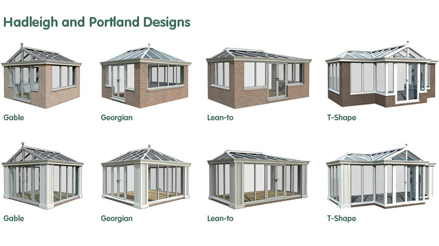 Orangery Designs and Shapes