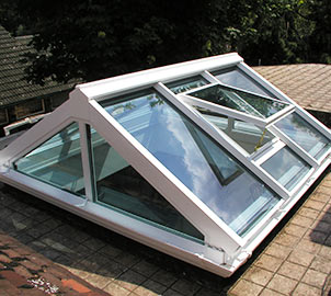 We can supply roof lanterns that are built of both wood and aluminium to suit the character of your home.