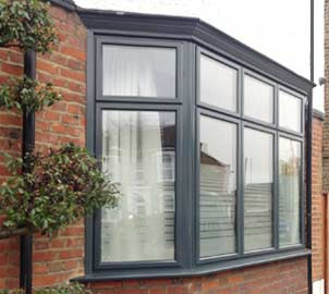 Double glazed aluminium window colours & finishes for properties in & around London