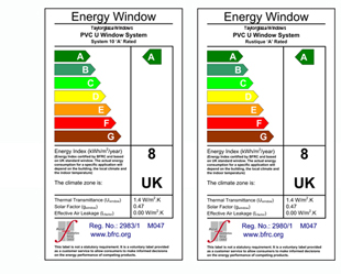 Taylorglaze can provide you with the ultimate in energy efficiency; visit the energy saving windows section  of the site for more information on how our a-rated windows work.