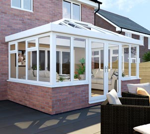 Double Glazed Orangery Design & Build in Hadleigh & throughout Southend Essex