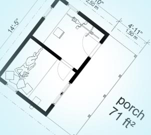 Porch Planning Permission in Westcombe Park and throughout South East London
